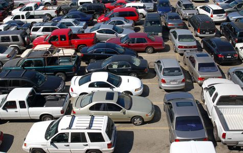 AHS School Parking Lot
