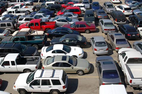 AHS School Parking Lot